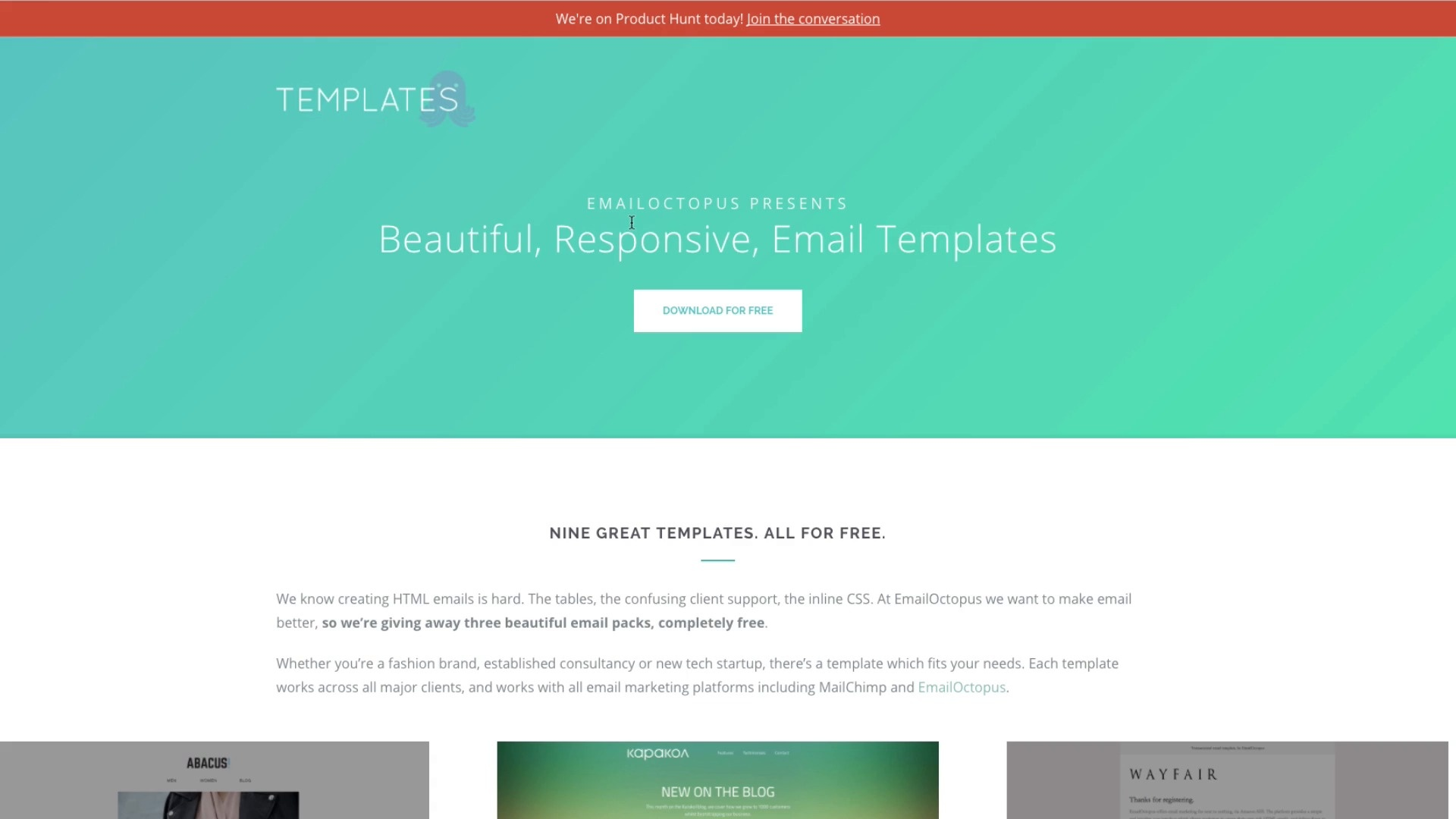 Email Template Archives Litmus Software Inc - Litmus free email templates