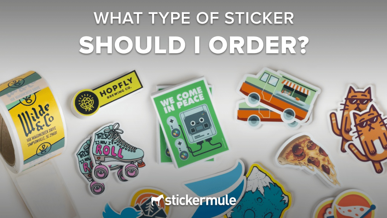 Order Custom Stickers