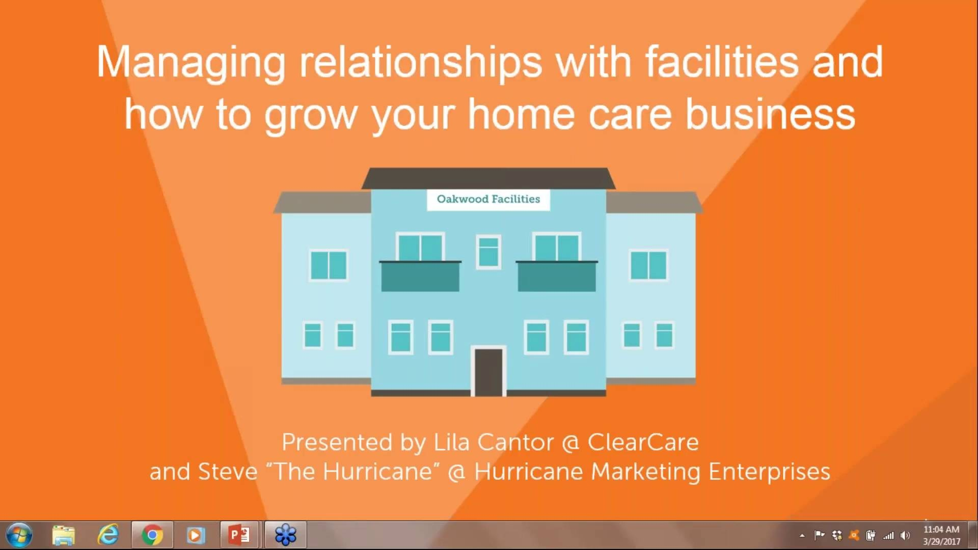 Wistia video thumbnail - Webinar: Managing your Business in Facilities