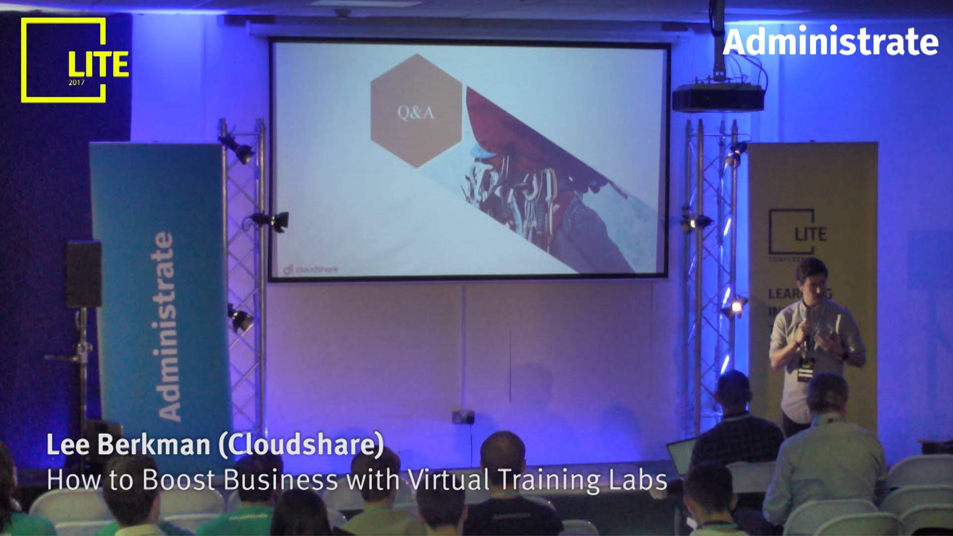 How to Boost Business with Virtual Training Labs [Lee Berkman]