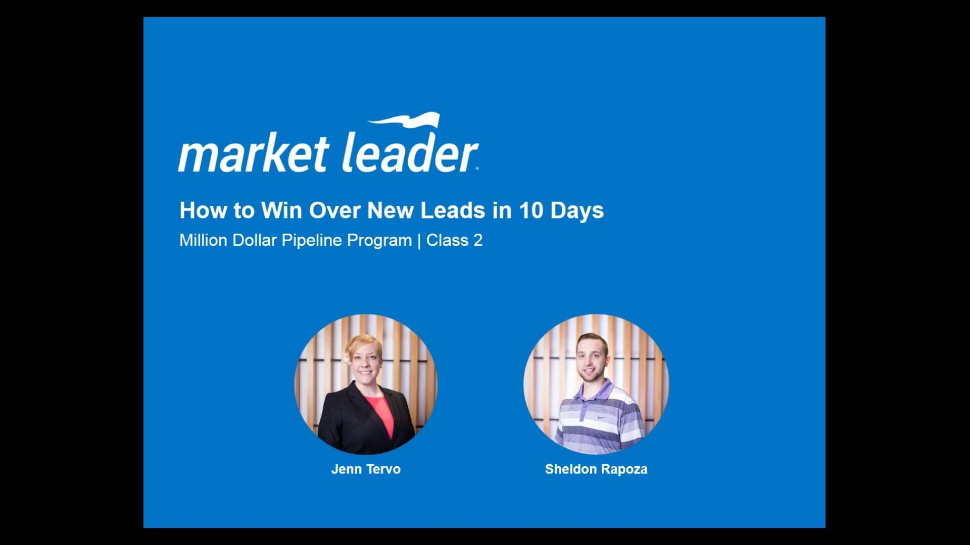 MDPP Class 2: How to Win Over New Leads in 10 Days