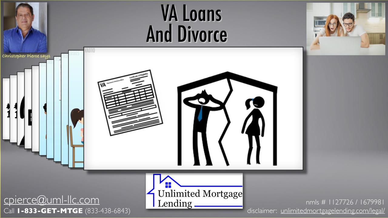 How Does Divorce Affect VA Loan Re-Eligibility? Unlimited Mortgage Lending