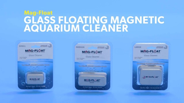 Mag-Float Glass Floating Magnetic Aquarium Cleaner, Small