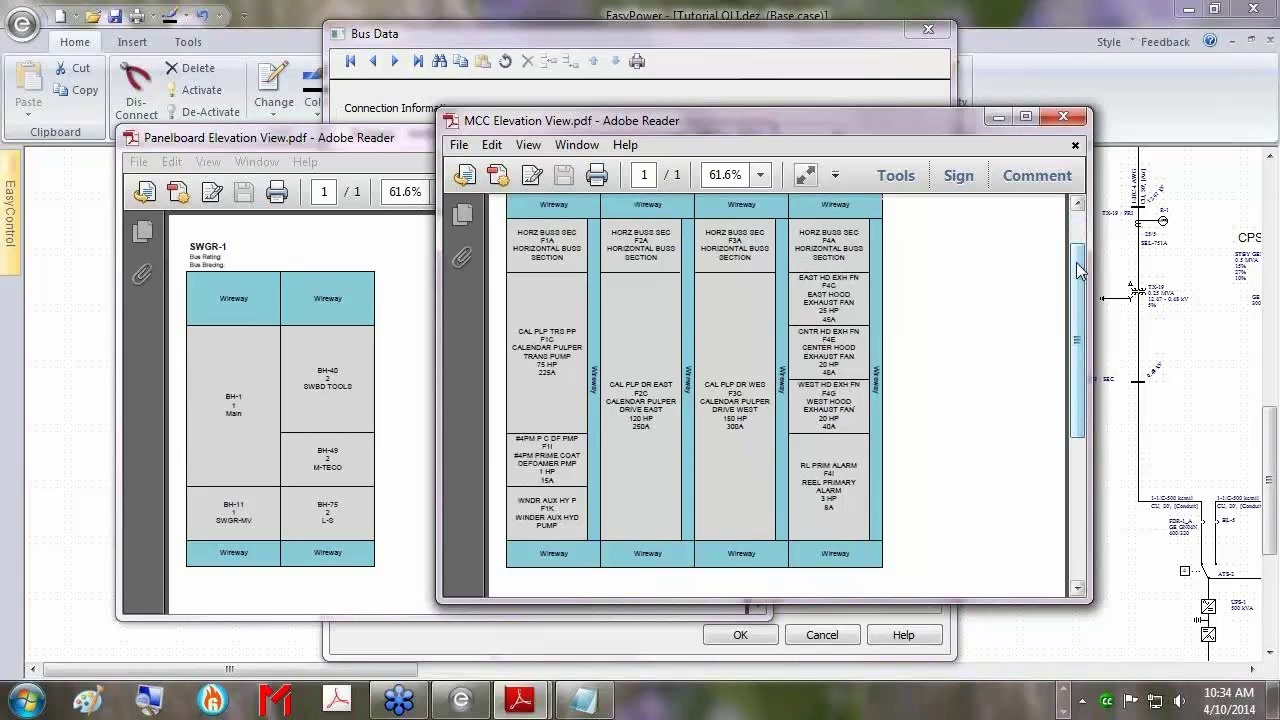 EasyPower Electrical Software Videos | EasyPower Schedules and ...