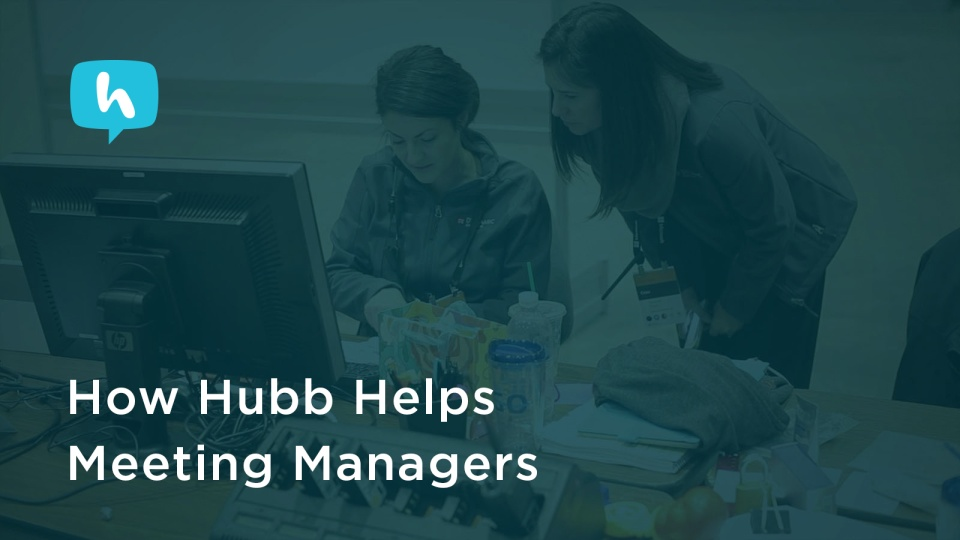 Wistia video thumbnail - How Hubb Helps Meeting Managers