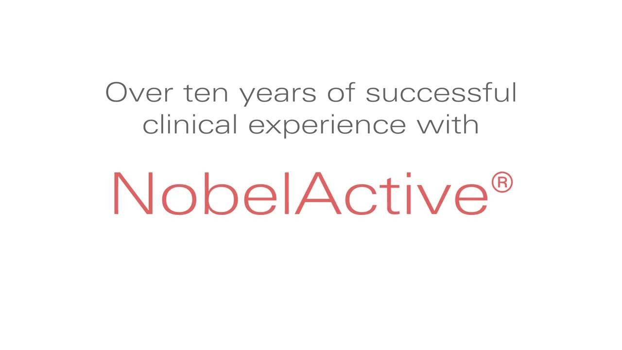 56750_Nobel Active Over ten years of successful clinical experience