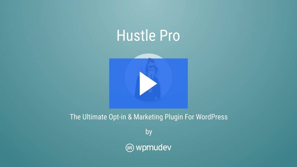 Hustle by WPMUDEV - the easy way to integrate Threemail into your website