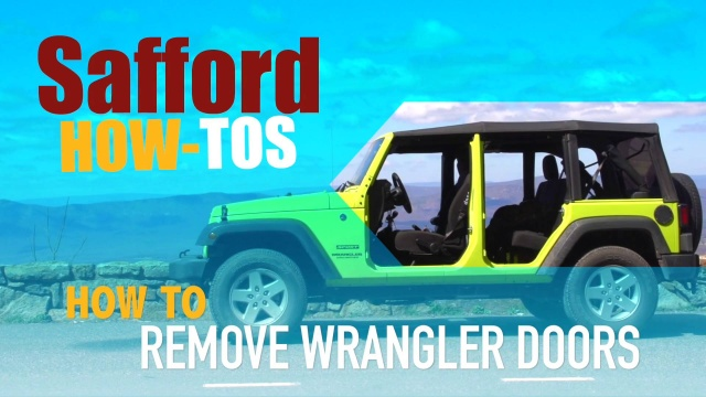 Remove the doors on Jeep | faqs | Safford of Fredericksburg on