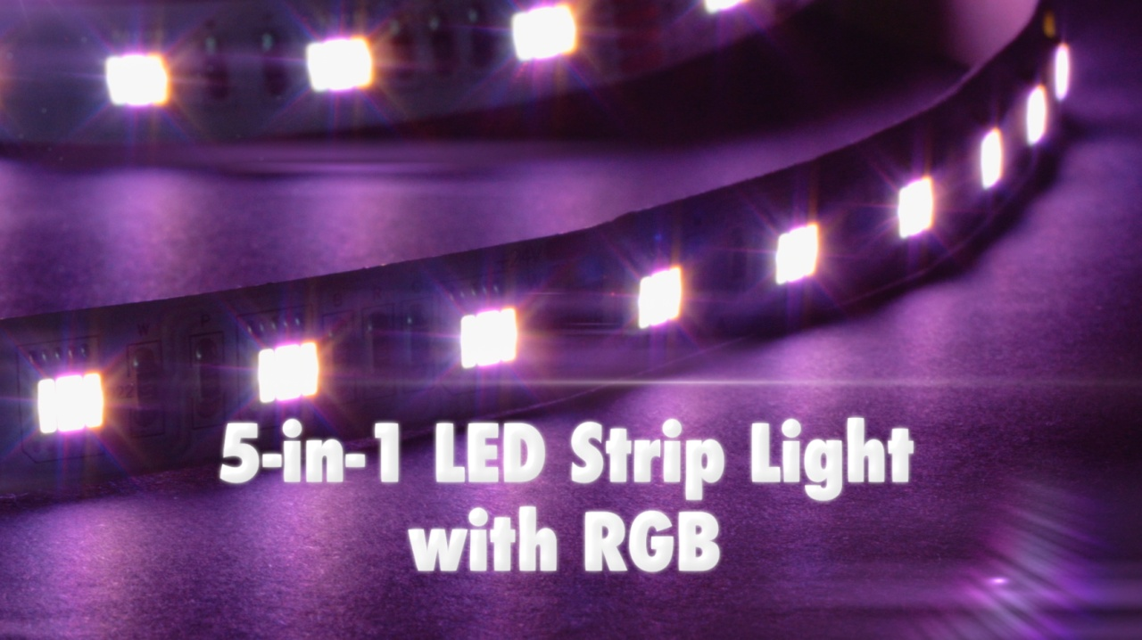 Buy waterproof 5 in 1 rgb led strip lights environmentallights video thumbnail aloadofball Choice Image