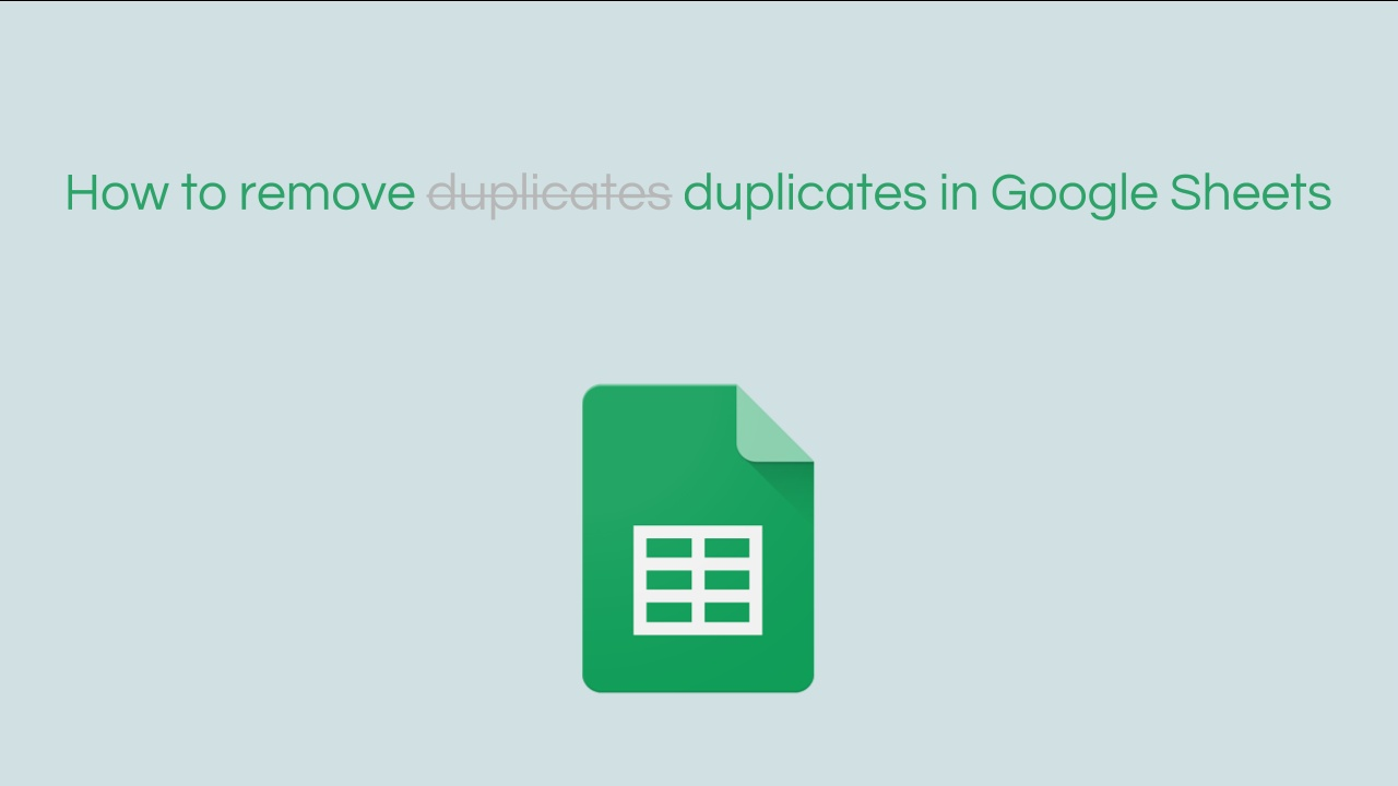 how to remove duplicates in google sheets bettercloud monitor