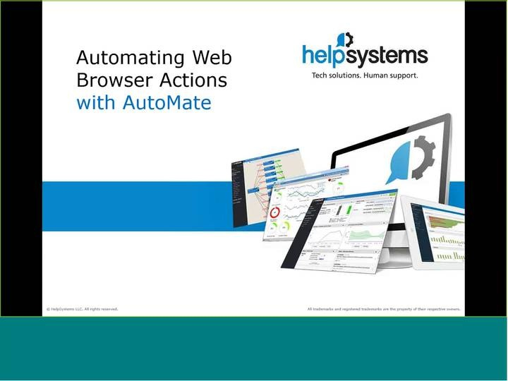 Automating Web Browser Actions with Automate