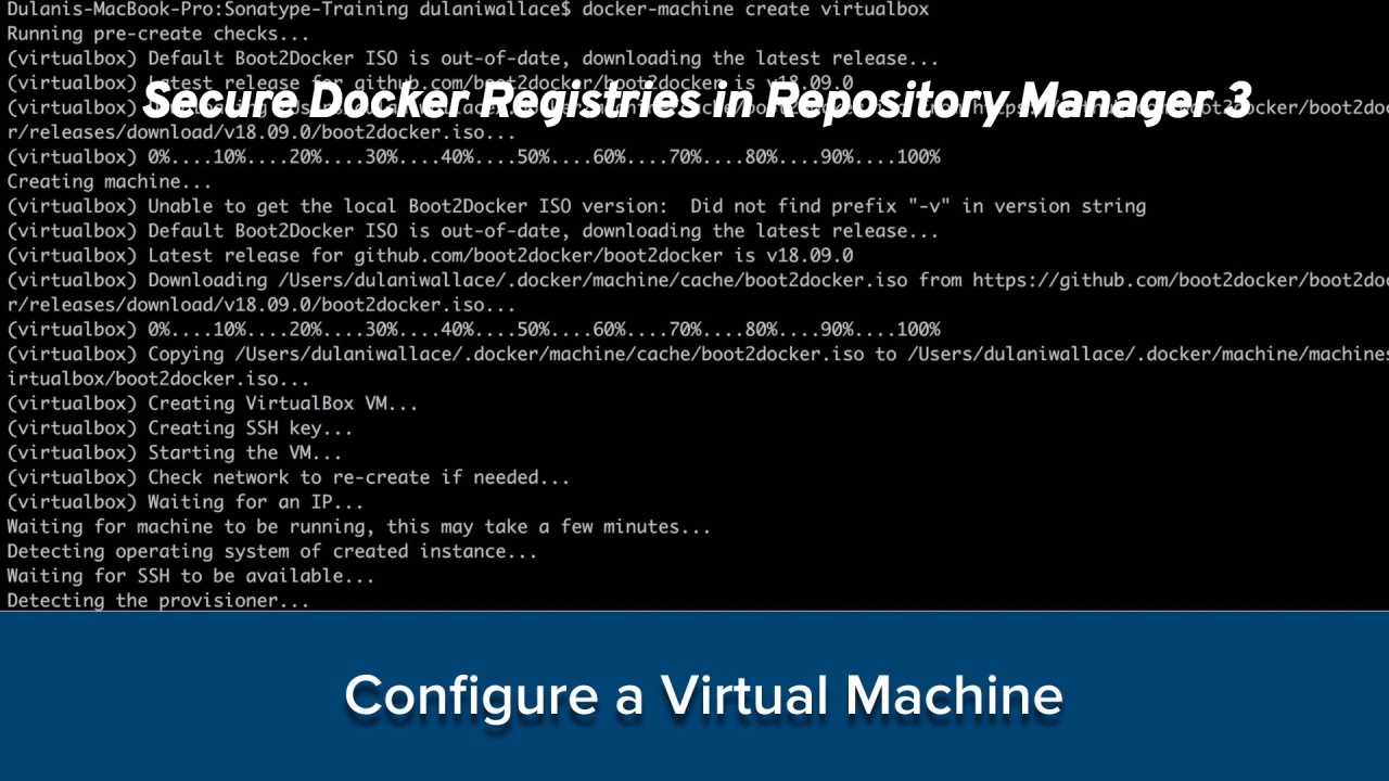 Secure Docker Registries in Nexus Repository Manager