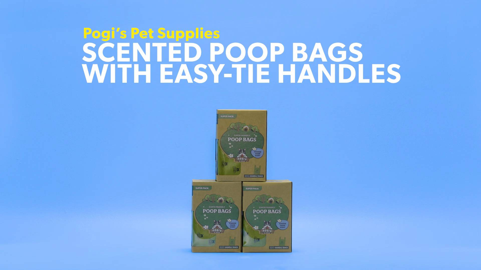 Pogi S Pet Supplies Scented Bags With Easy Tie Handles 300 Count Chewy