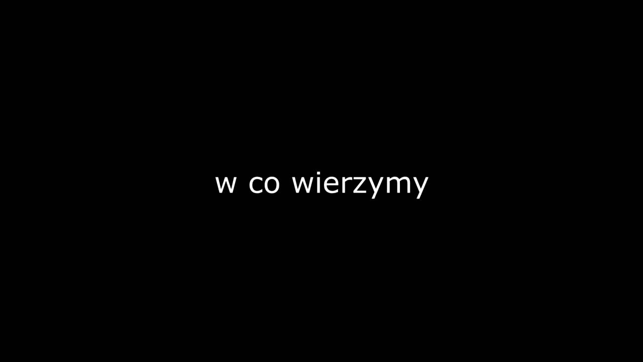 Wistia video thumbnail - w co wierzymy