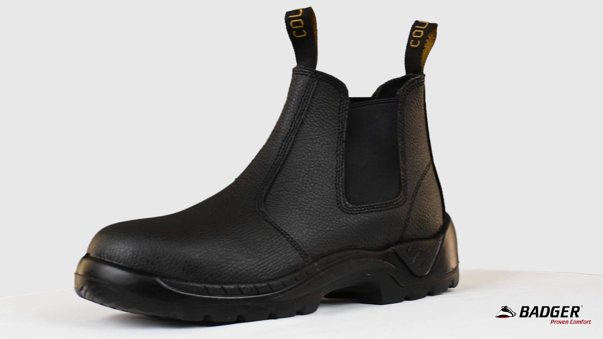 3df7a7f3a1f Cougar E101BR Elastic Sided Safety Boot
