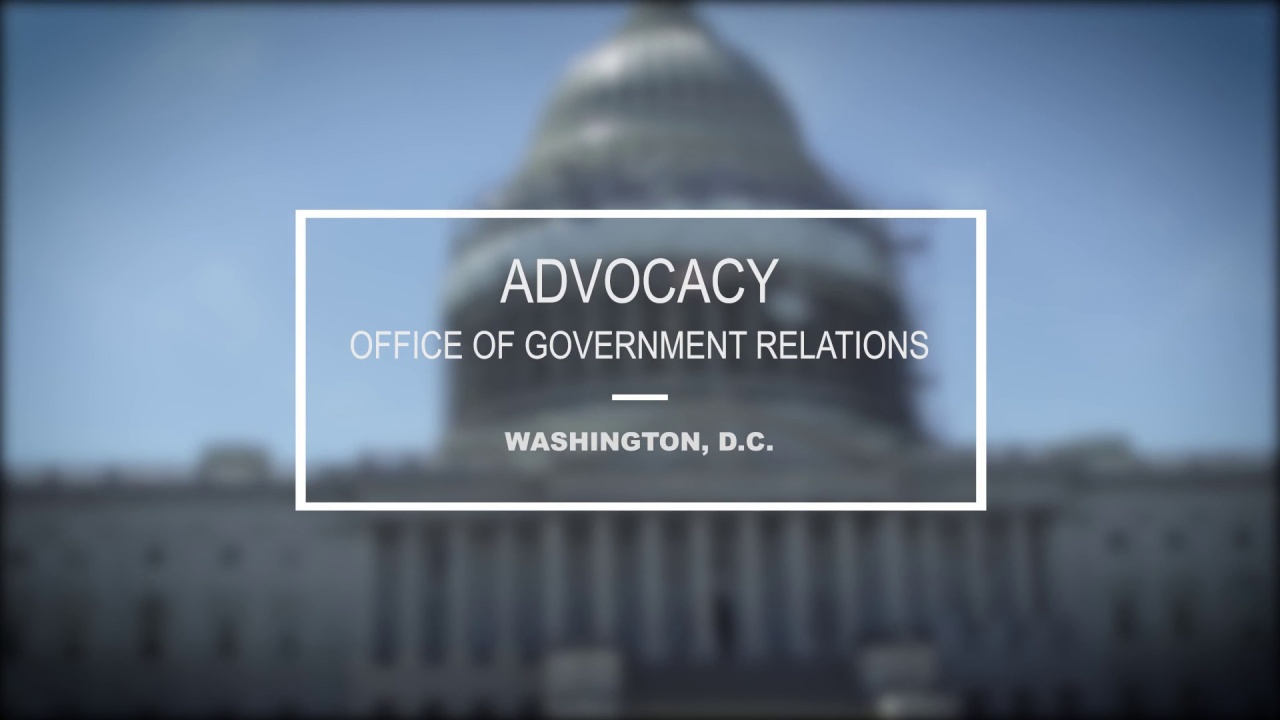 Advocacy: The Office of Government Relations