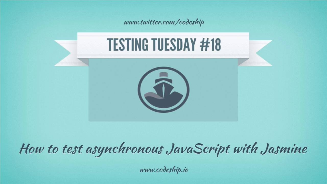 How to test asynchronous JavaScript with Jasmine