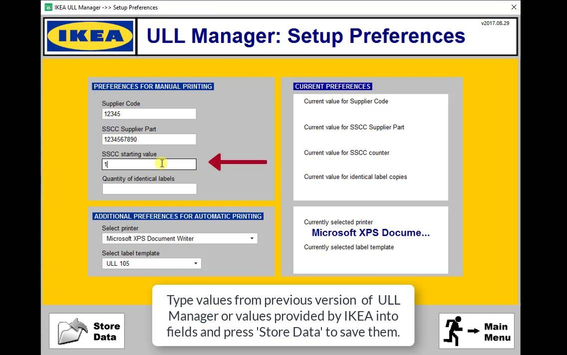 Video 03 - IKEA ULL Manager 2017 - Apply Initial Setup To New ULL Managerv2