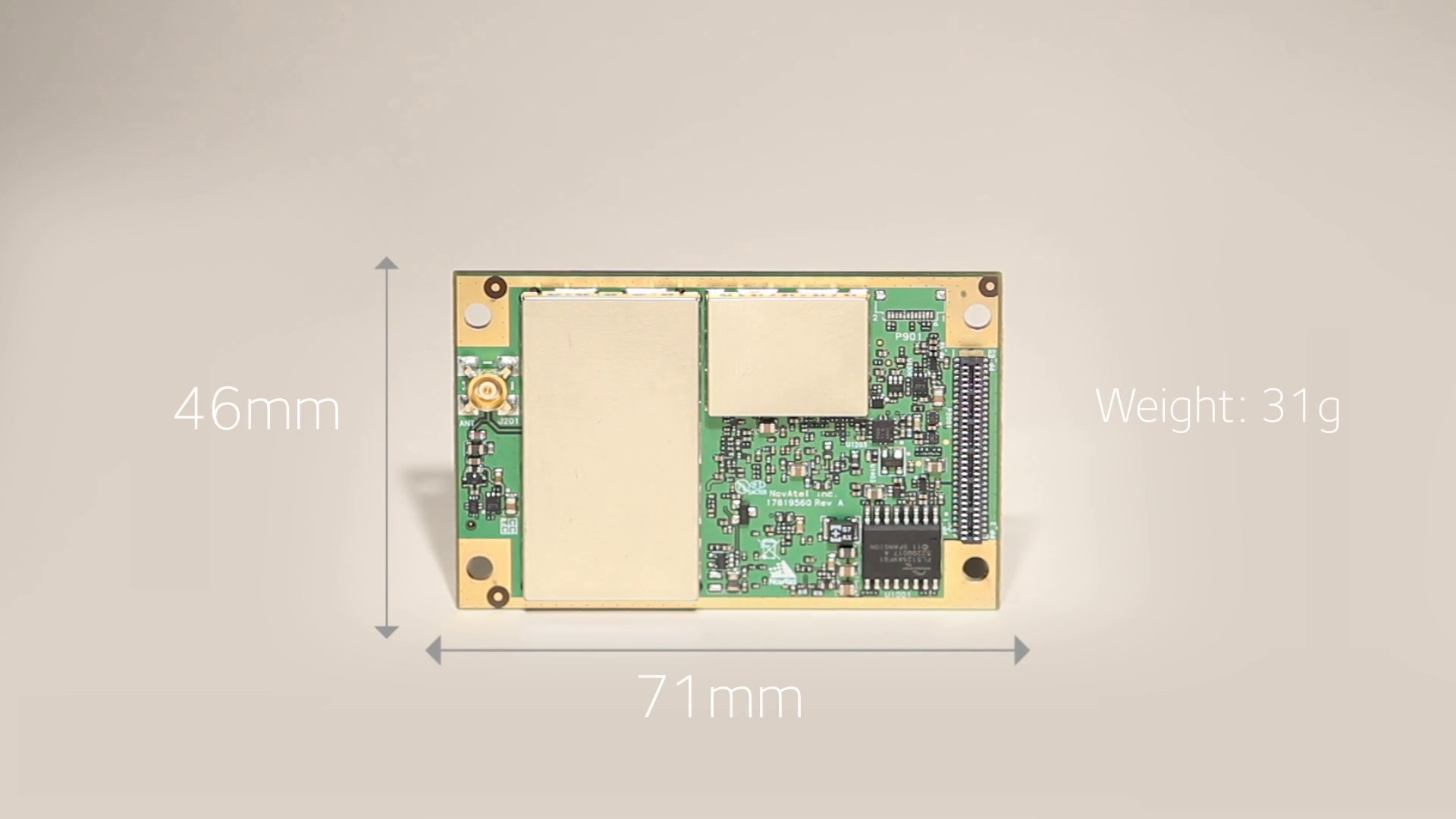 Oem7700 Multi Frequency Gps Gnss Receiver Oem Circuit Board Video Thumbnail