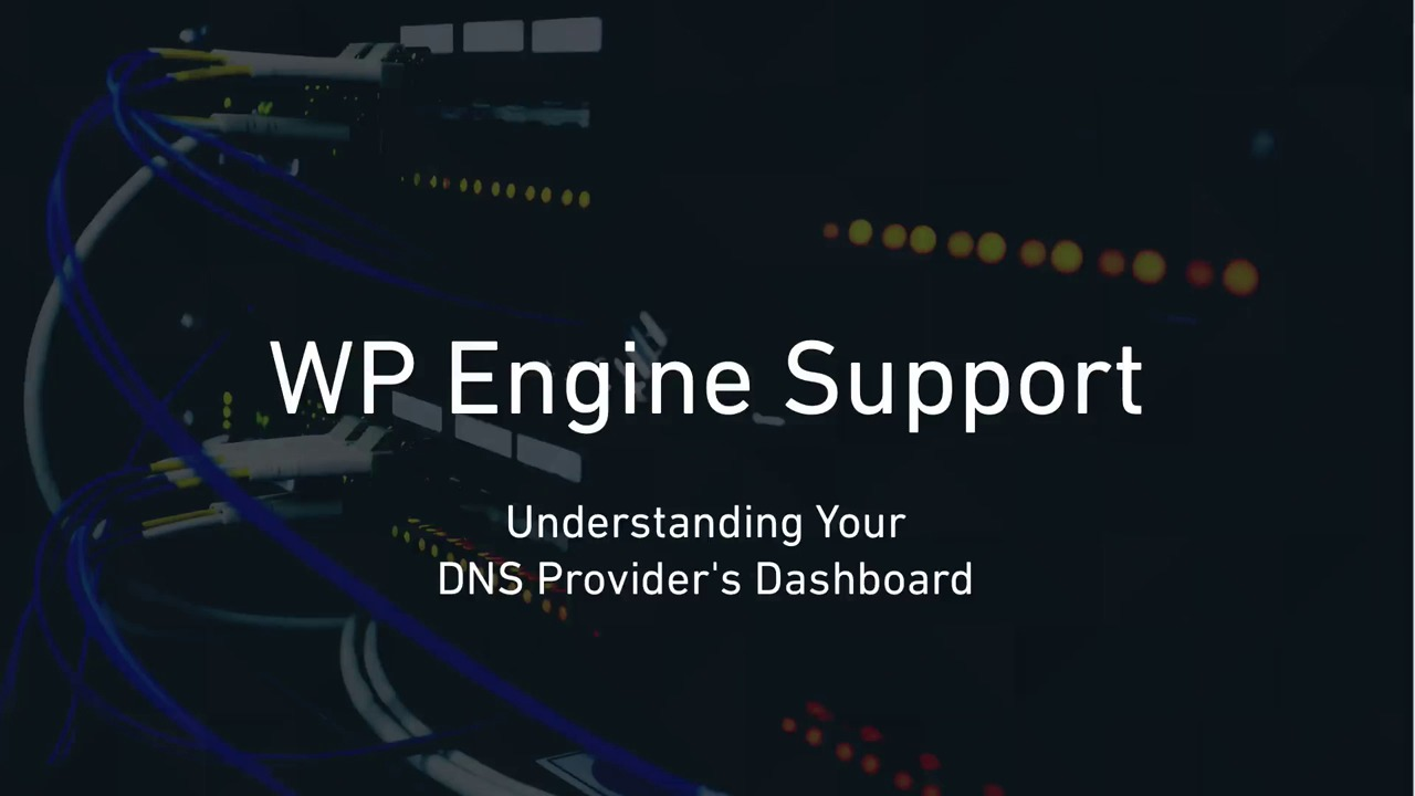 Configuring DNS for WP Engine | WordPress Hosting by @WPEngine