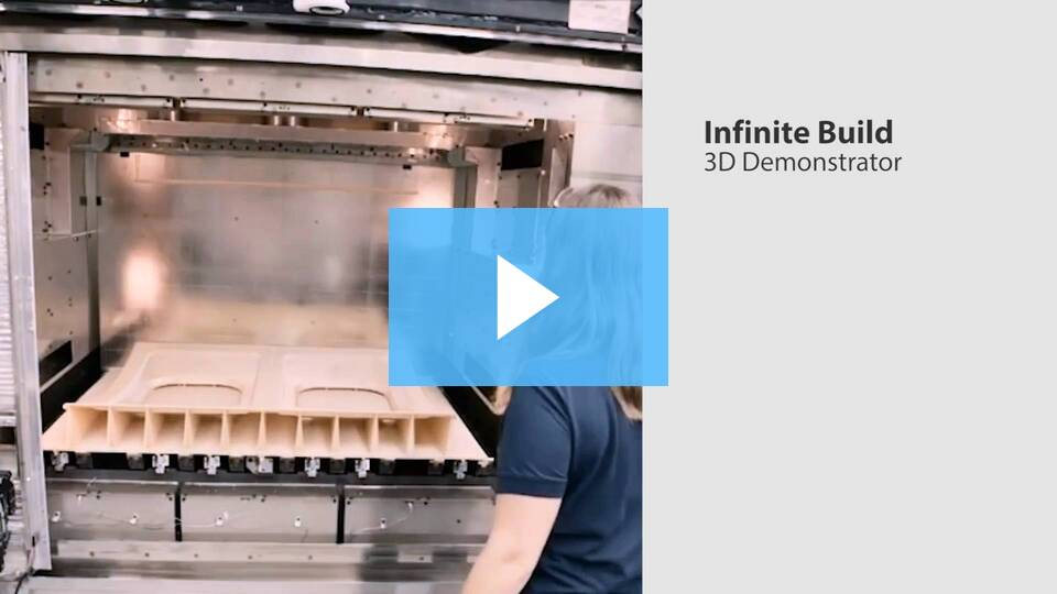 International Manufacturing Technology Show (IMTS): Infinite Build 3D Demonstrator