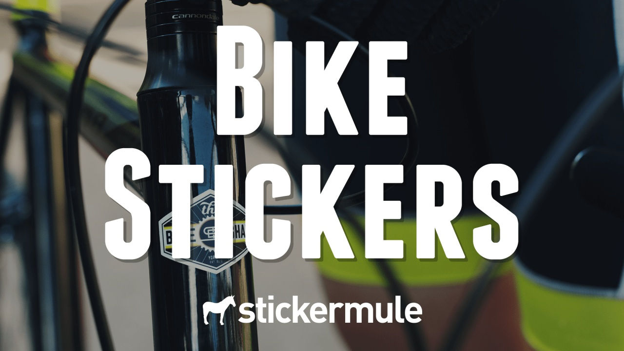 Printed Stickers For Bikes