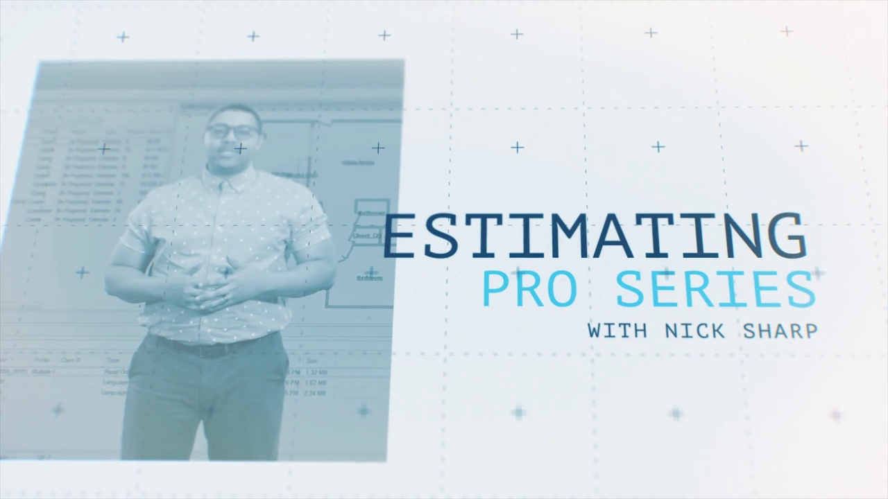 Introducing the Reets TV: Estimating Pro Series
