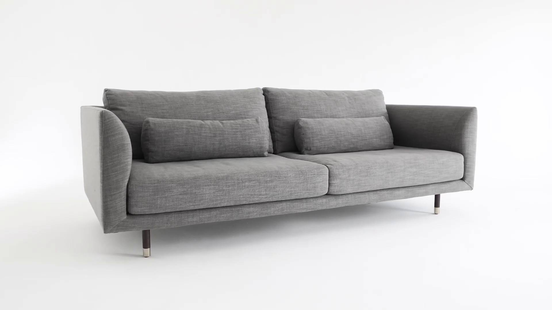 Jules 2 Seater Sofa Austria Grey
