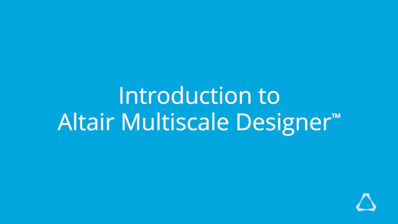 Design analysis of engineered components altair multiscale designer fandeluxe Image collections