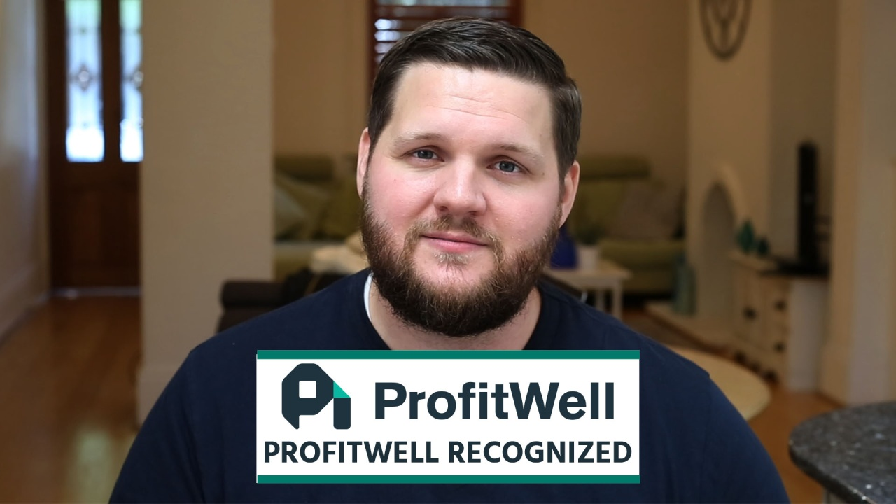 Wistia video thumbnail - ProfitWell Recognized
