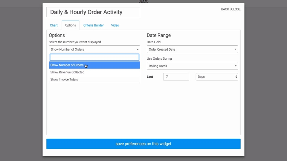 Wistia video thumbnail - Daily & Hourly Order Activity