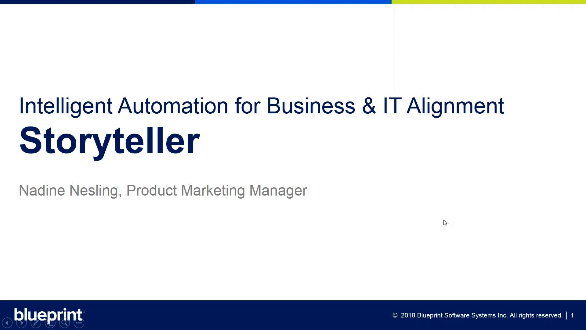 Automate business it alignment with storyteller malvernweather Gallery