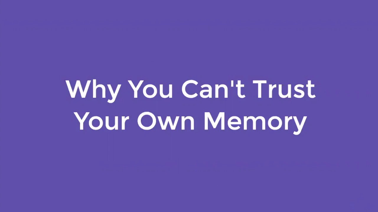 Why You Cant Trust Your Own Memory Tech Talk Fog Creek Blog