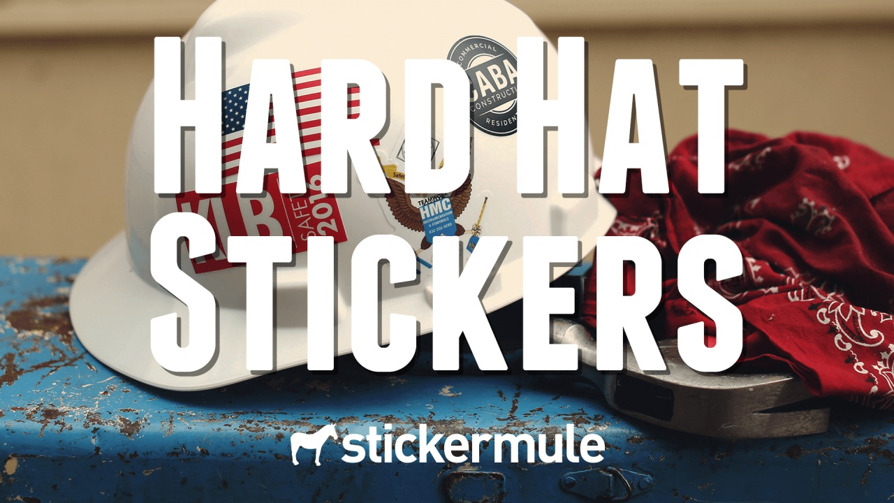 Vinyl stickers that can stand up to any job