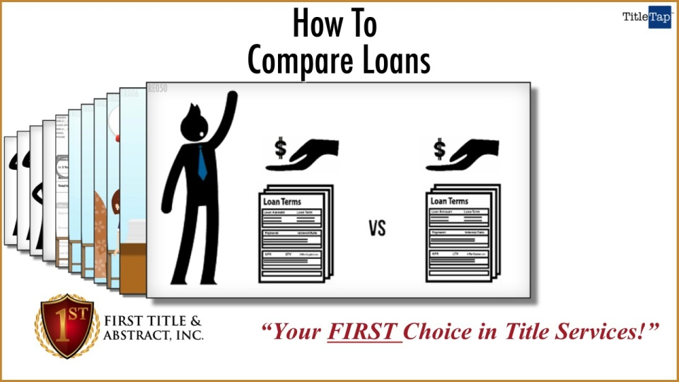 Comparing Mortgages First Title Abstract Naples Marco Island