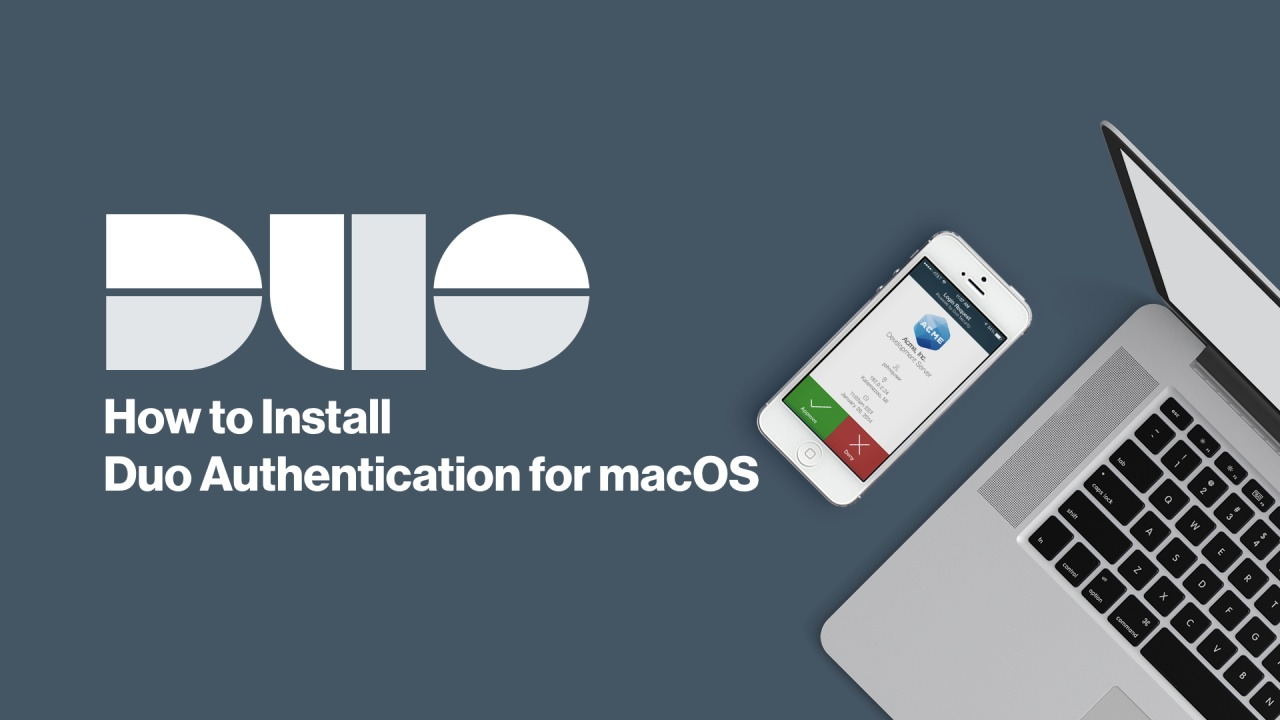 Two Factor Authentication For Macos Duo Security Mac Os X Block Diagram Video Thumbnail