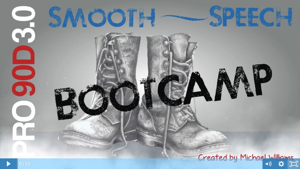 Wistia video thumbnail - Smooth Speech BootCamp Training Invitation