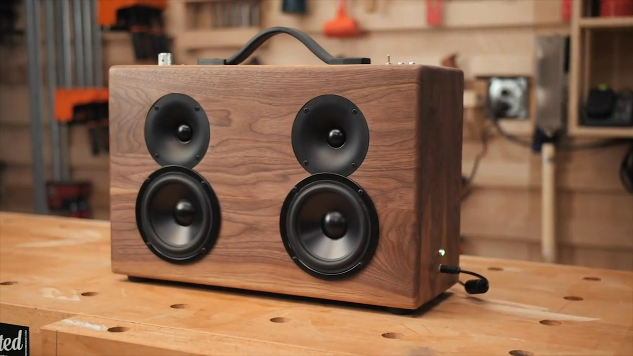 How To Build A DIY Battery Powered Bluetooth Speaker | Bernzomatic