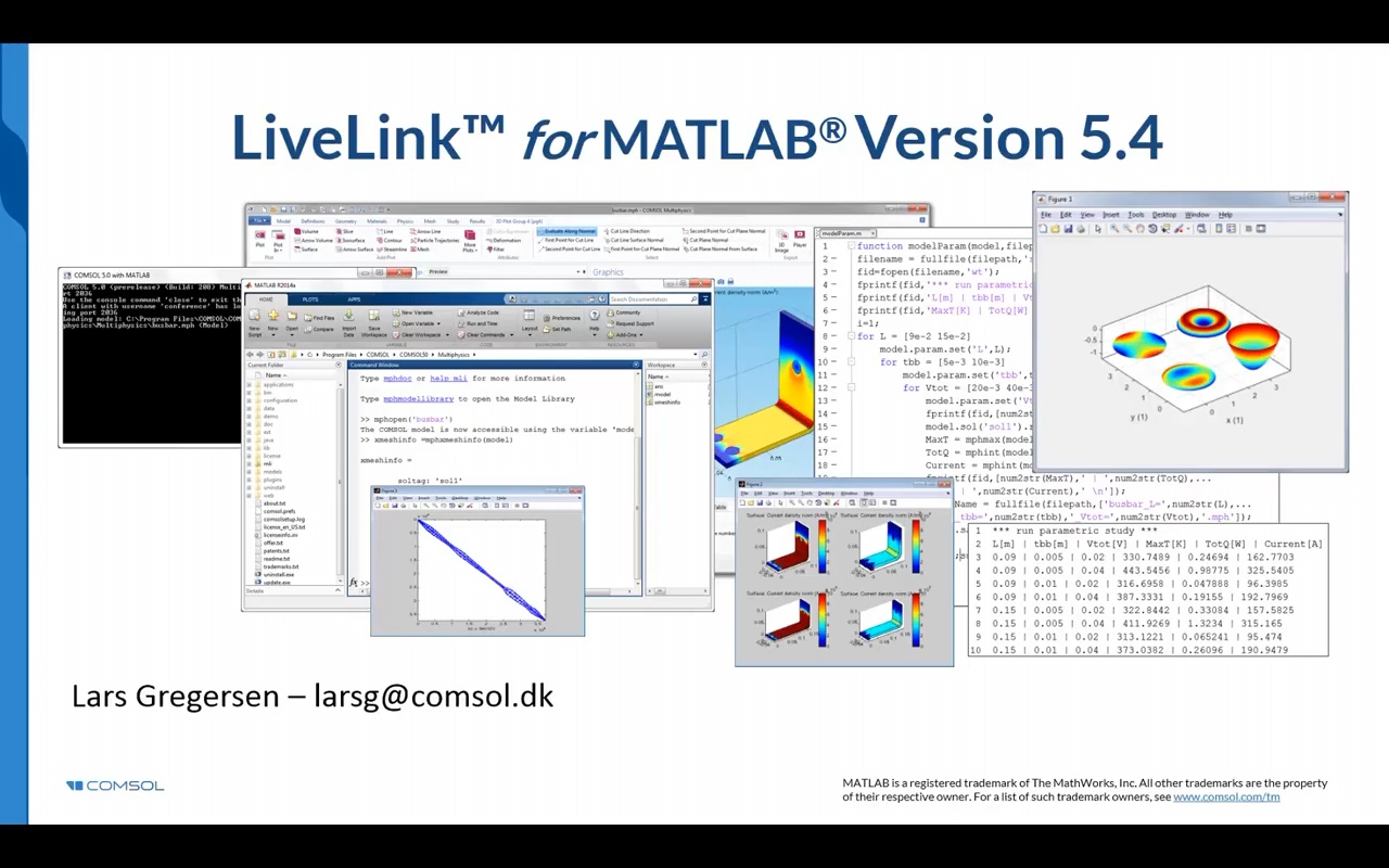 18-Minute Intro to LiveLink™ for MATLAB®