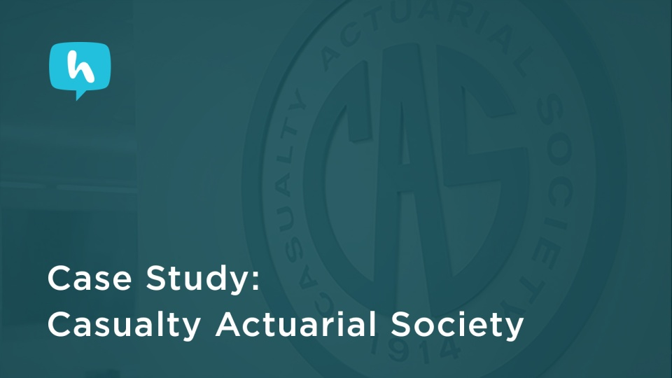 Wistia video thumbnail - Case Study: Casualty Actuarial Society