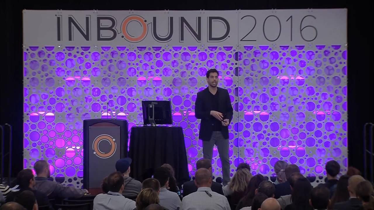 Wistia video thumbnail - INBOUND 2016- Josh Harcus 'The Art of the 5 Minute Response Time'