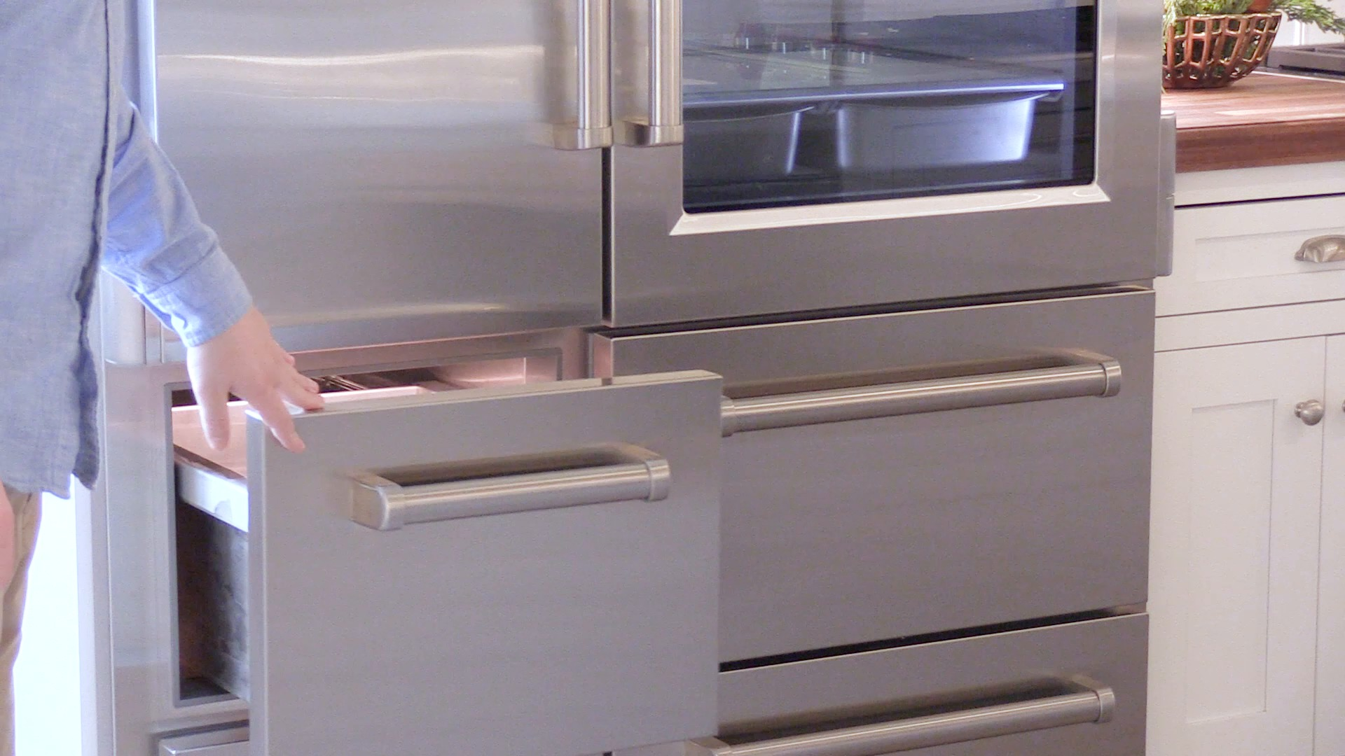 cu door of ft drawer single refrigerator unique with freezer kenmore bottom