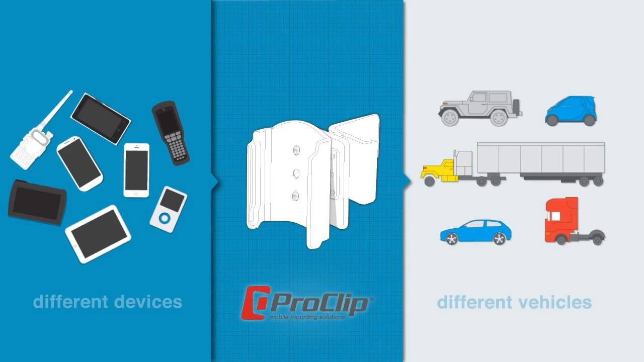 ProClip USA Vehicle Mounts for Fleet and Business Solutions