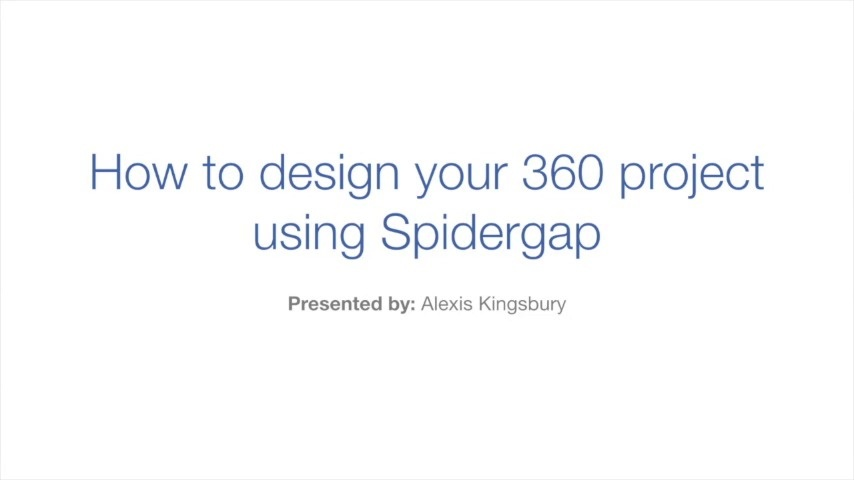 Wistia video thumbnail - 2. How to design your 360 project