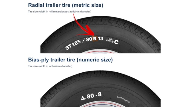 Bias Ply Tires >> Trailer Tires The Difference Between Radial And Bias Ply