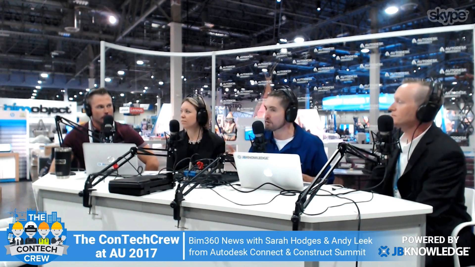 Wistia video thumbnail - Connect & Construct: Sarah Hodges & Andy Leek Talk Next Gen BIM 360