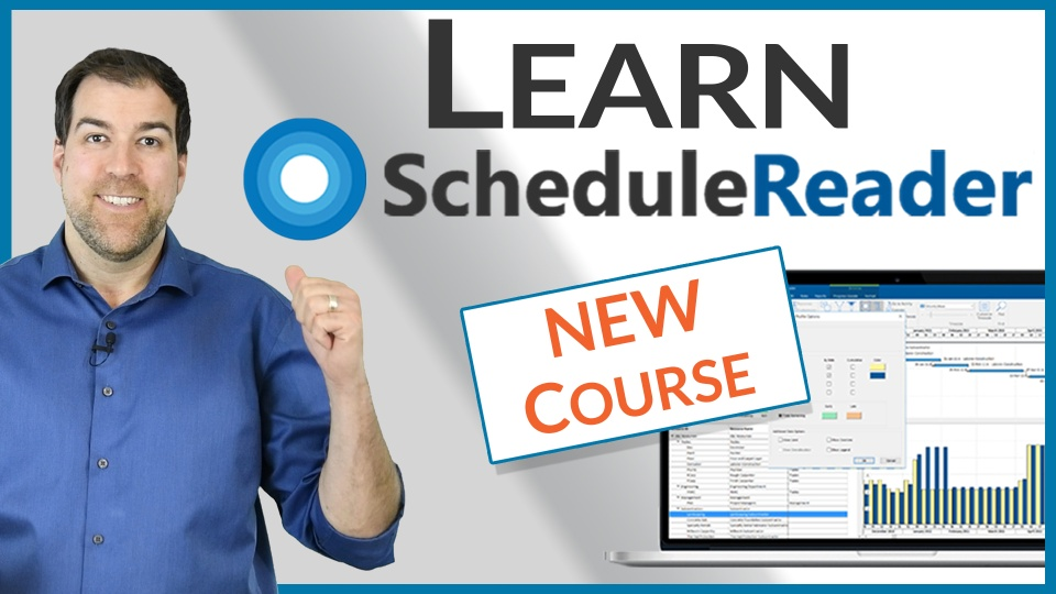 Analyze P6 Projects with ScheduleReader - What You'll Learn