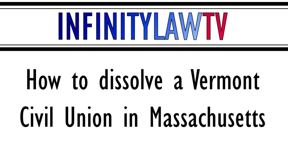 Can A Civil Union Be Dissolved Infinity Law Group