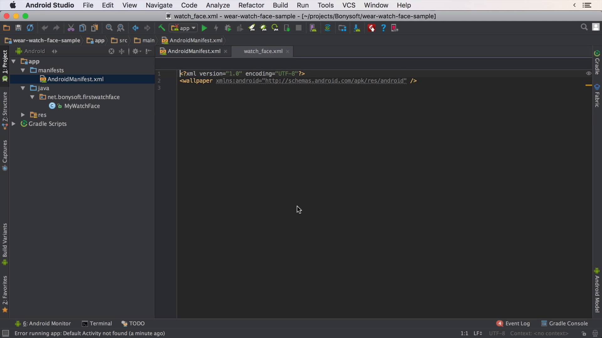 creating a watch face in android studio android wear building your first watch face caster io