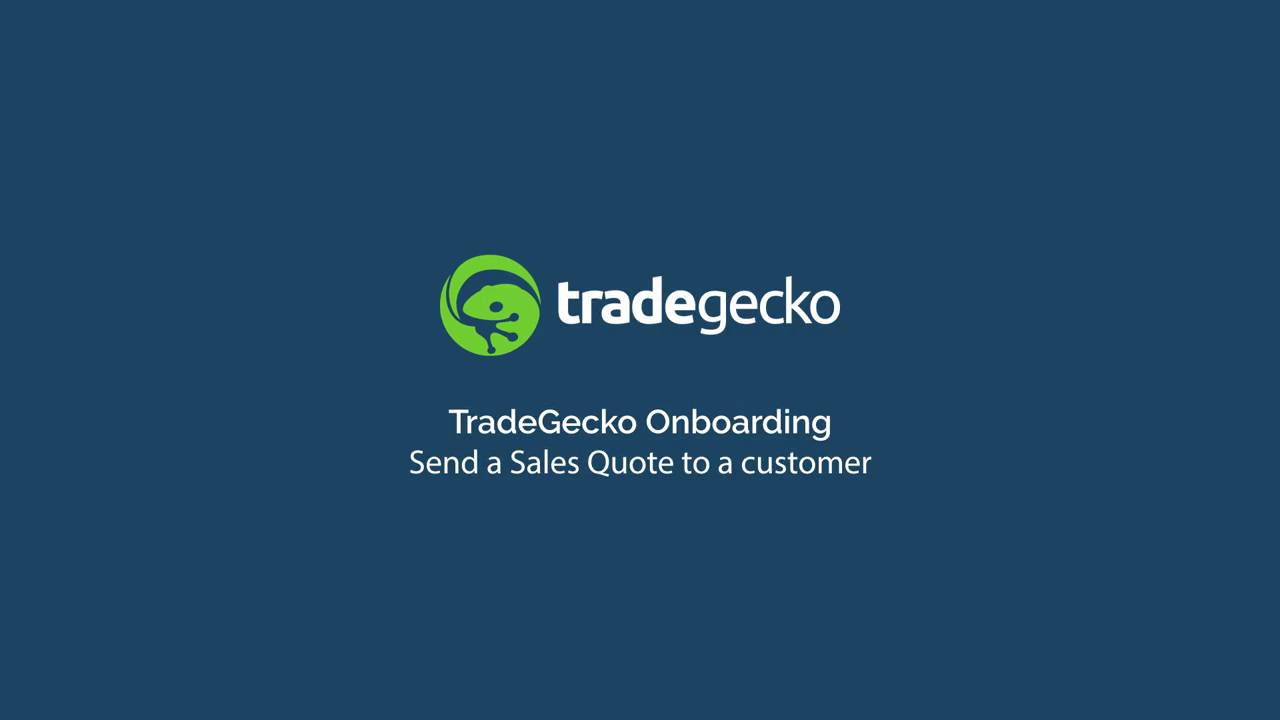 Sales Quote Send A Sales Quote To A Customer  Support  Tradegecko